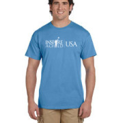 Inspire A Child USA Blue Tee