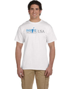 Inspire A Child USA White Tee