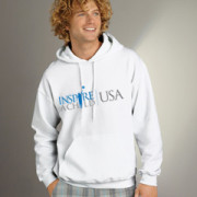 inspire a child usa- whitehoodie