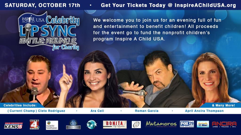 Lip Sync Battle Charity Inspire A Child USA San Antonio
